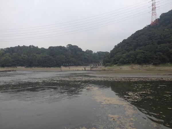 津久井湖 沼本ダム方面