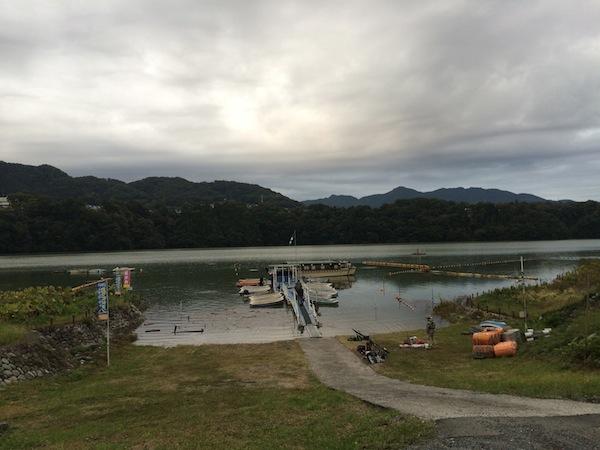 津久井湖やっぱり難しい><【2013/10/18津久井湖釣行】