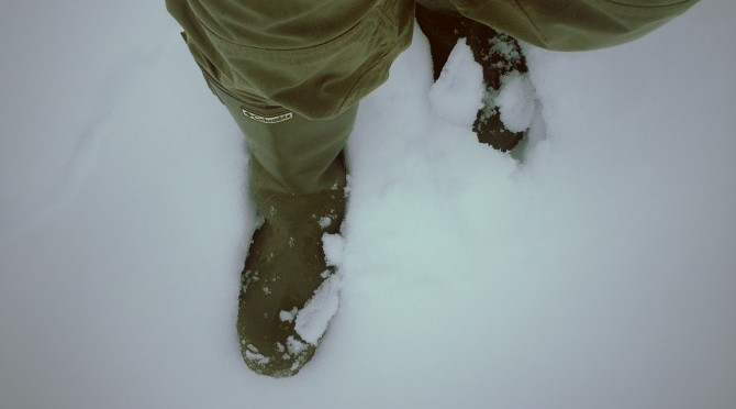 二週続けての大雪!!! 釣行用の長靴が大活躍なのだ♪ 【コロンビア ラディ】