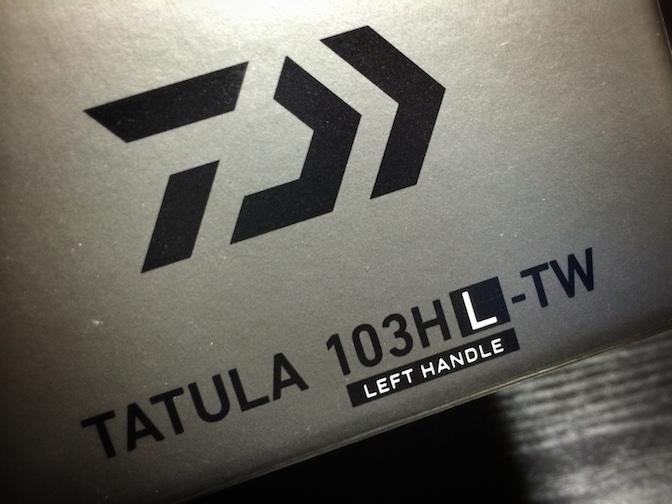 DAIWA TATULA 103HL-TW 箱