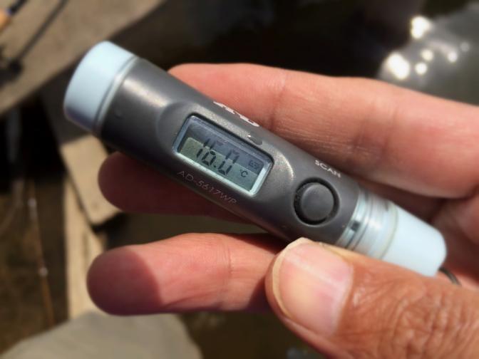 2014年4月1日釣行 表水温16.0℃