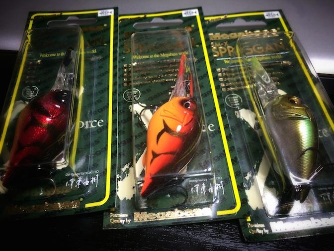 メガバス SM-X SPRIGGAN(スプリガン)#GLAXY A-CRAW #SUNSHINE FIRE CRAW #WAGIN HONMOROKO