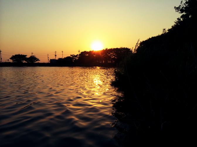 2014年6月1日釣行 日没前のゴールデンタイム