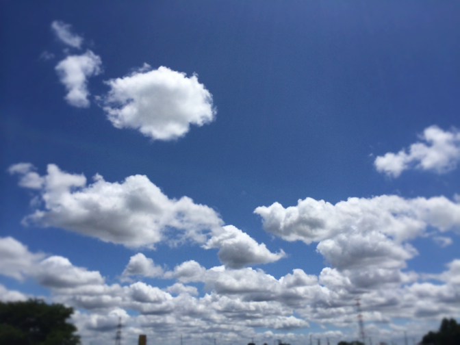 2014年6月29日釣行 雨模様の合間に青空!?