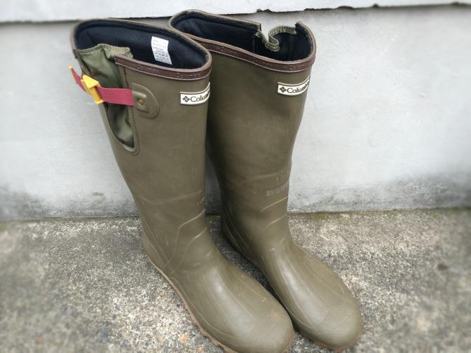 一年前に買った長靴 コロンビア ラディ YU3472-976