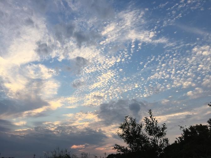 2014年9月21日釣行 すっかり秋の空模様