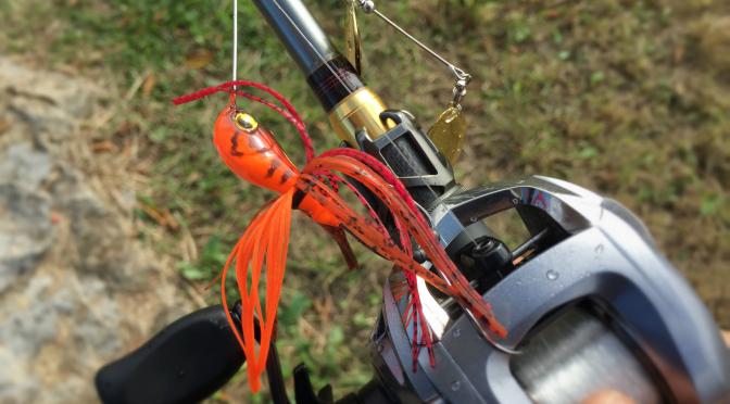 2014年11月3日釣行 クローカラーのレベルスピンをお試し♪